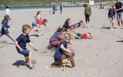 Training at Poppit Surf Lifesaving Club